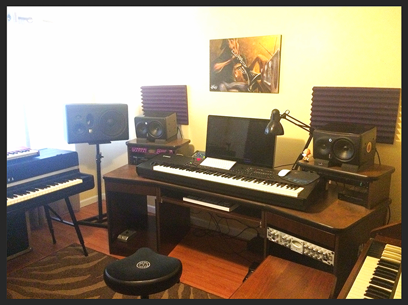 Desk Home Recording Studio Furniture Uk Music Production Wor Consoles 2 Studio Workstation